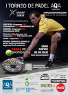 Torneo de padel AQUA Drop Shot: Cartel