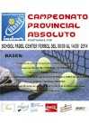 Campeonatos Provinciales Absolutos: Cartel