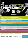 II Torneo de Pádel POWERADE ASM: Cartel