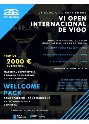 VI Open Internacional: Cartel